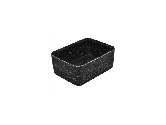 Kulho melamiini musta 130x175x70 mm 85 cl