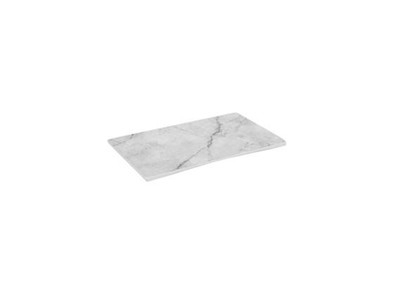 Tarjotin melamiini marmori 24,6x14x0,8 cm