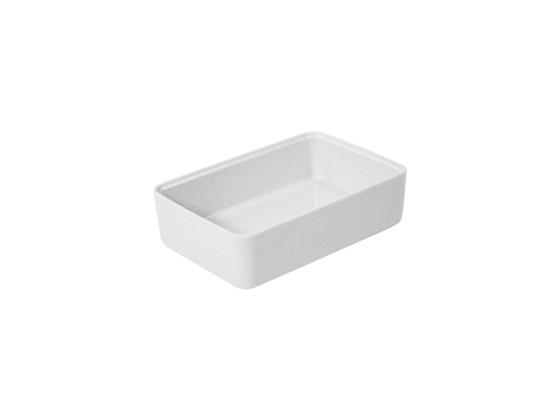 Kulho melamiini valkoinen 175x260x70 mm 1,95 L