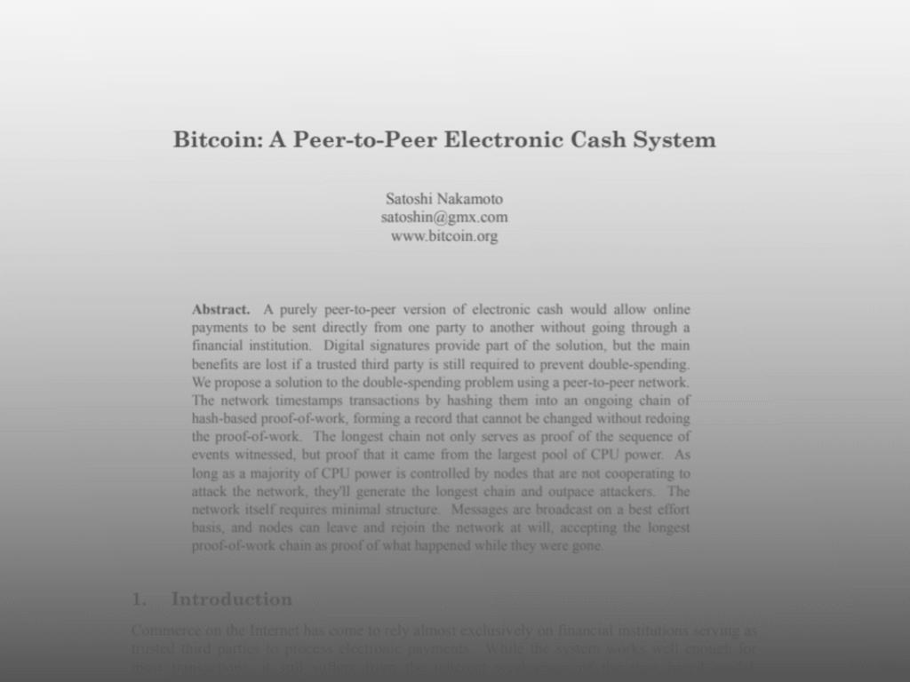 Whitepaper Bitcoin