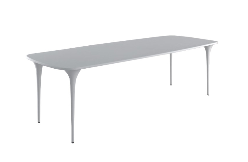 009.01 200 Organic: Rectangular table L 197 cm W 97 cm H 73 cm