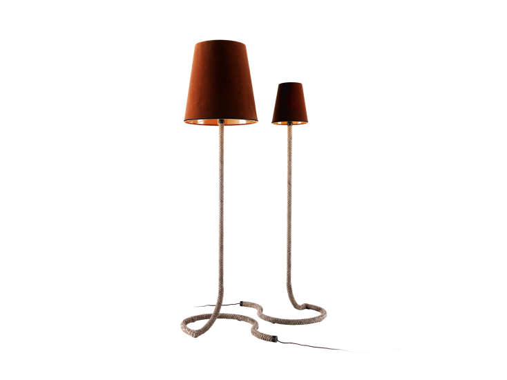 Snake: Floor lamp H 183 cm in different finishings by Grilli