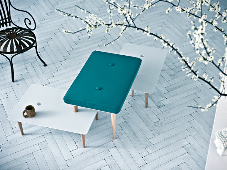 A Song for You: Low coffee table L 75 cm D 50 cm H 26 cm ideal to create compositions
