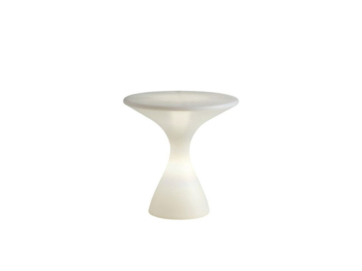 Kissino: Small table Ø45 cm H 45 cm with light
