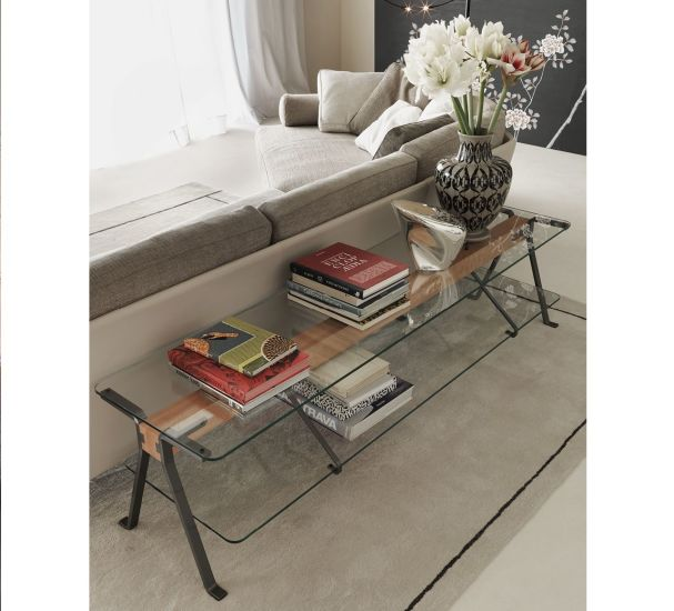 Fratello: Low console table L 200 cm W 50 cm H 50 cm