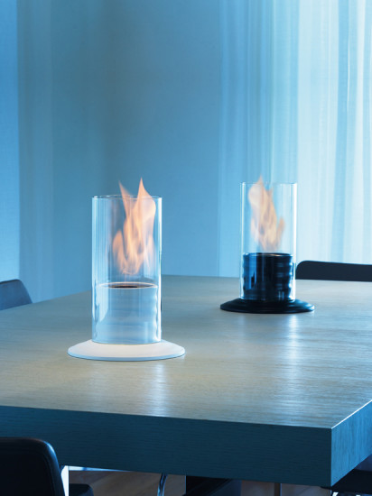 Gasper: Table fireplace Ø250 mm H 480 mm