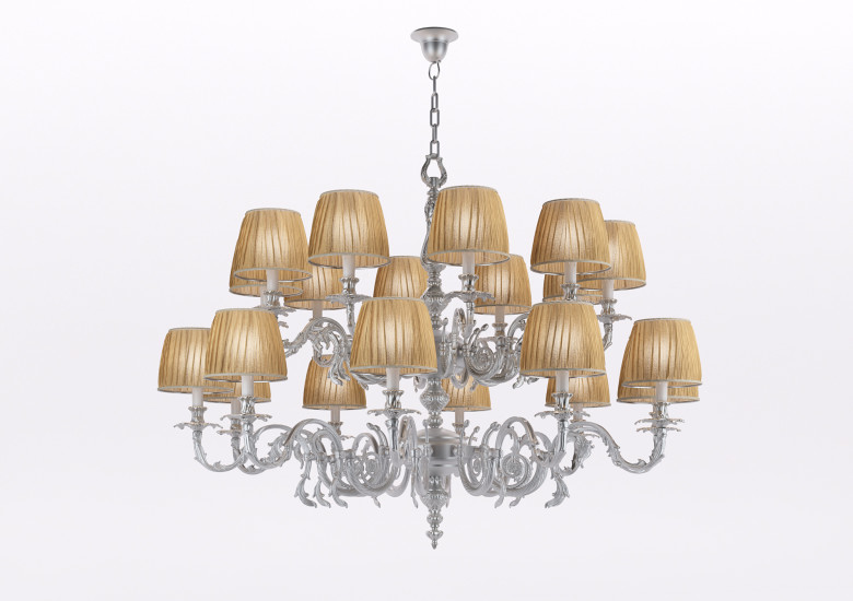 1629/CH20/AV: Chandelier in Murano glass