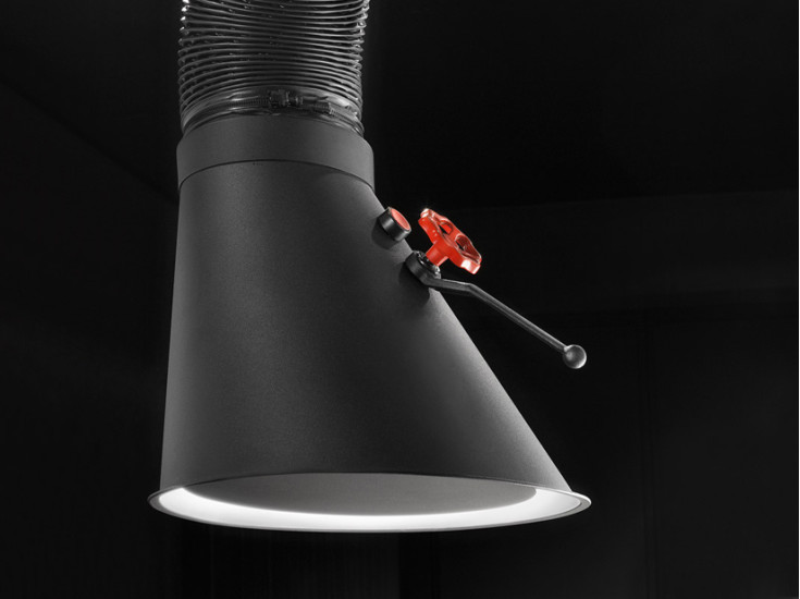 Mammut - Ceiling Mounted: Ceiling mounted extractor hood in different lengths