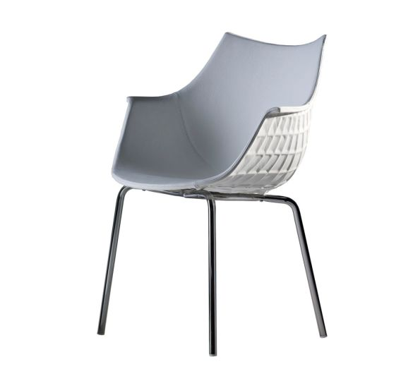 Meridiana: Chair available in different finishings