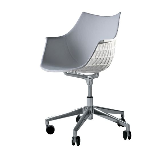 Meridiana: Chair on soft casters