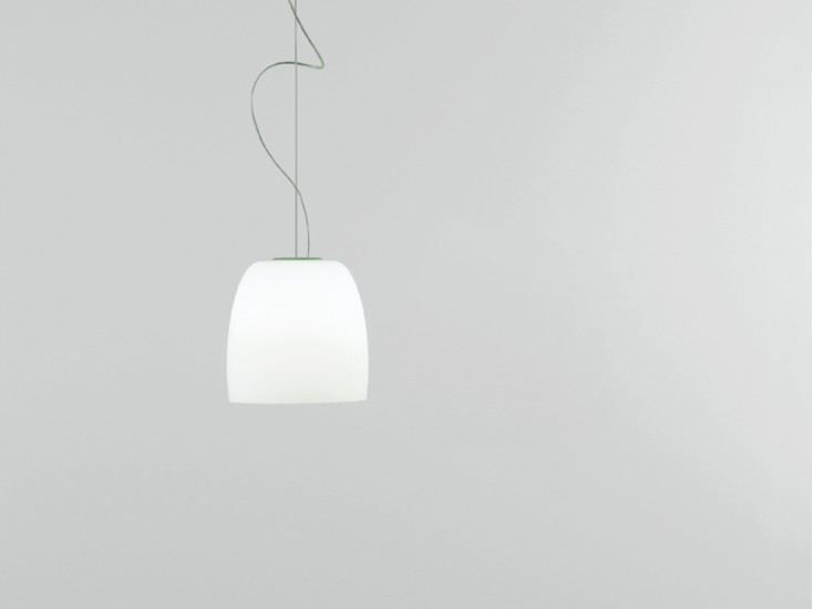 Notte S3: Pendant lamp Ø300 mm available in different finishings