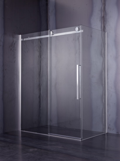 Giotto: Corner shower enclosure with sliding door