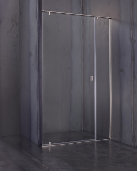 Galileo: Shower enclosure with pivot door and inline panel