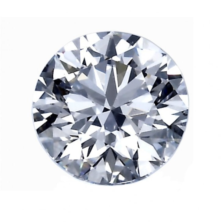 1.13 Carat D Color VVS2 Clarity Round Diamond Certified by GIA