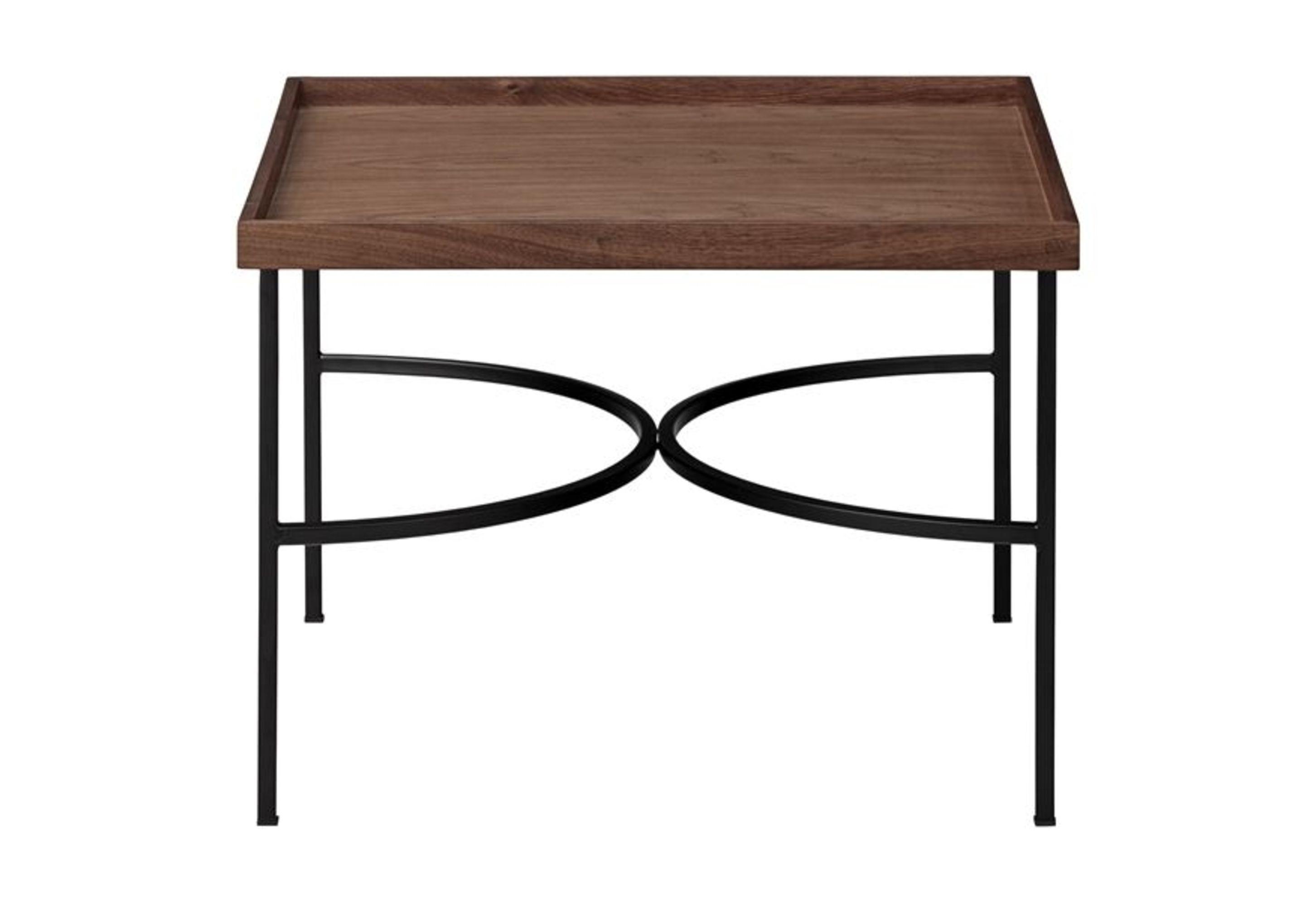 Unity Table, Walnut & Black
