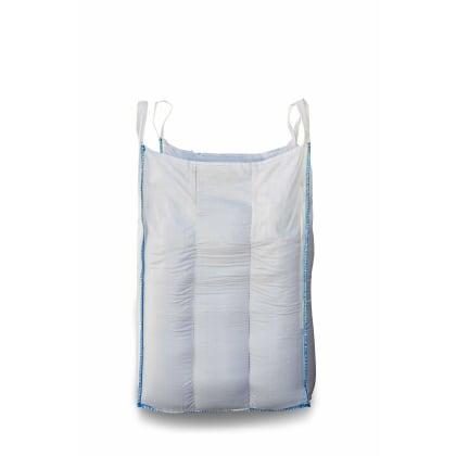 1.25 Tonne - Food Grade - Baffle Spout Top Spout Bottom - Bulk Bag - 105 x 105 x 160 CM