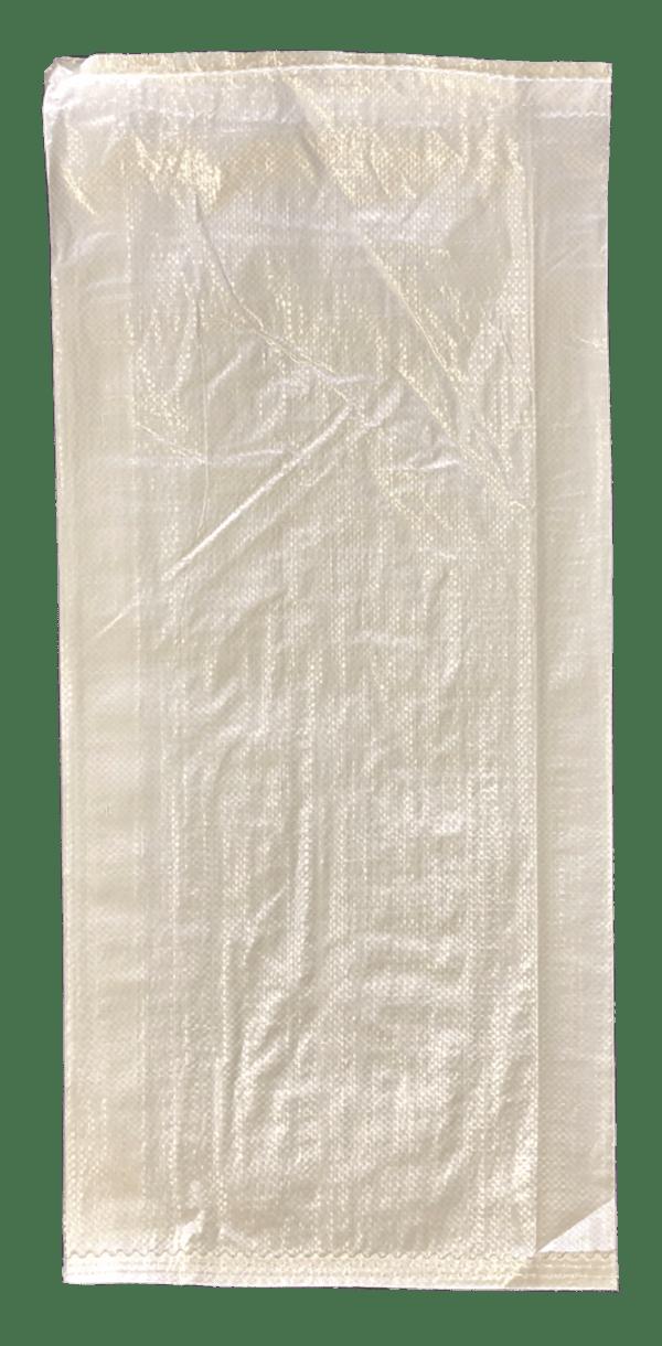 Woven Polypropylene - White Feed Bag - (37 CM +10 CM) x 80 CM