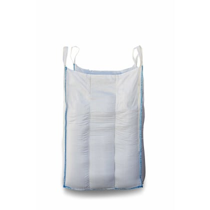 1.25 Tonne - Food Grade - Baffle Spout Top Spout Bottom - Bulk Bag - 105 x 105 x 160 CM