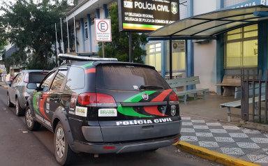 Polícia Civil prende 4 pessoas envolvidas em assalto no interior de Luzerna