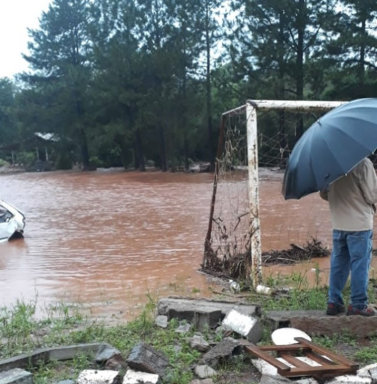 Chuva forte afeta municípios da região