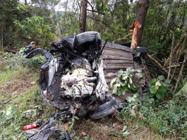 Filho de ex-prefeito de Pouso Redondo morre em acidente na BR-470