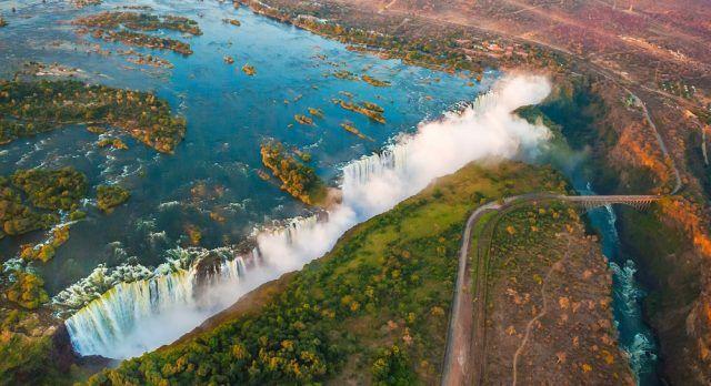 The awe-inspiring Victoria Falls
