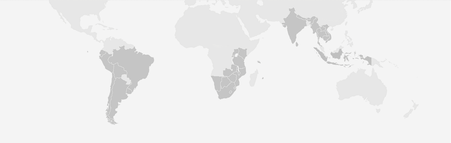 Destinations in India, Africa, South America, Asia