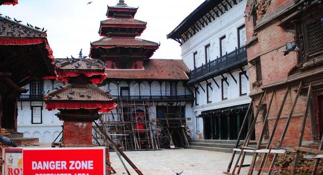Hanuman Durbar Square in Kathmandu, Nepal, Asia