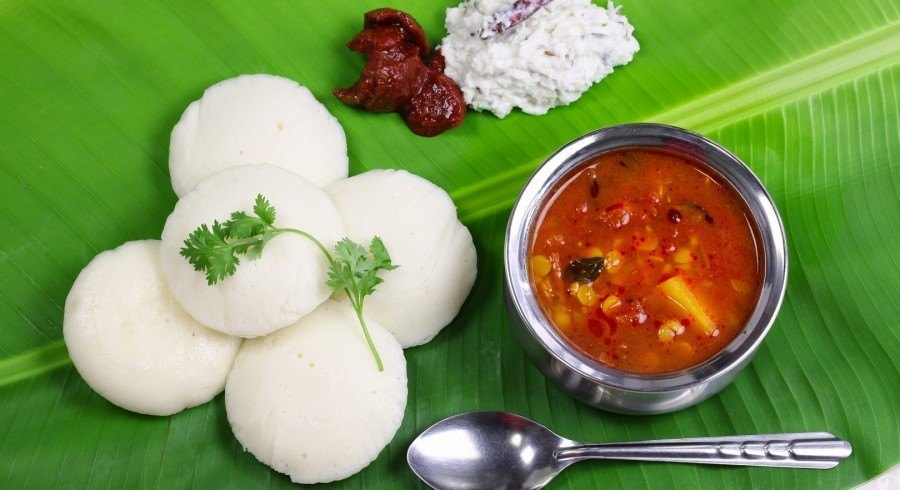 North or South India? A typical South Indian breakfast