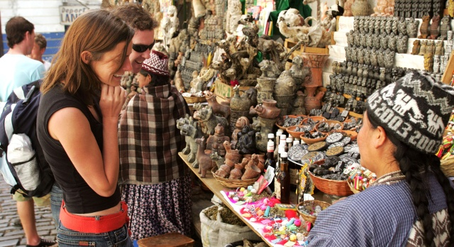 Discover the famous Witches Market in La Paz