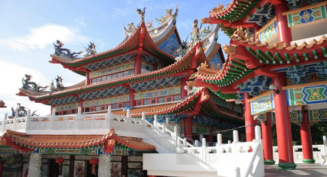 Malaysia vacation - Colorful temples