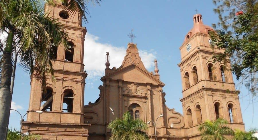 Historischer Altstadt von Santa Cruz, Bolivien
