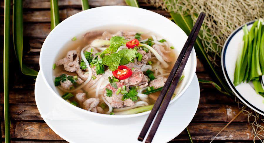Vietnamesische Küche Pho