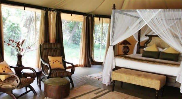 Room at Mara Ngenche Camp, Masai Mara