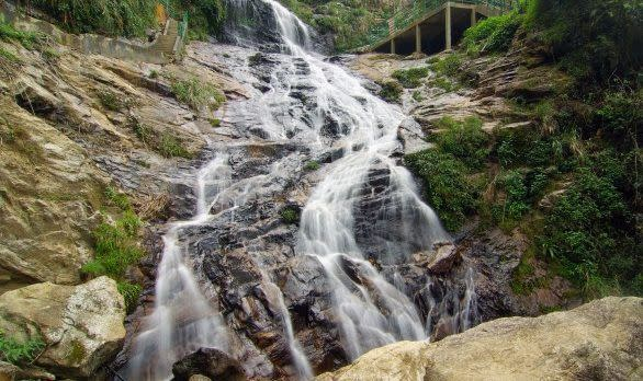 The Bac Wasserfall, Sapa in Vietnam