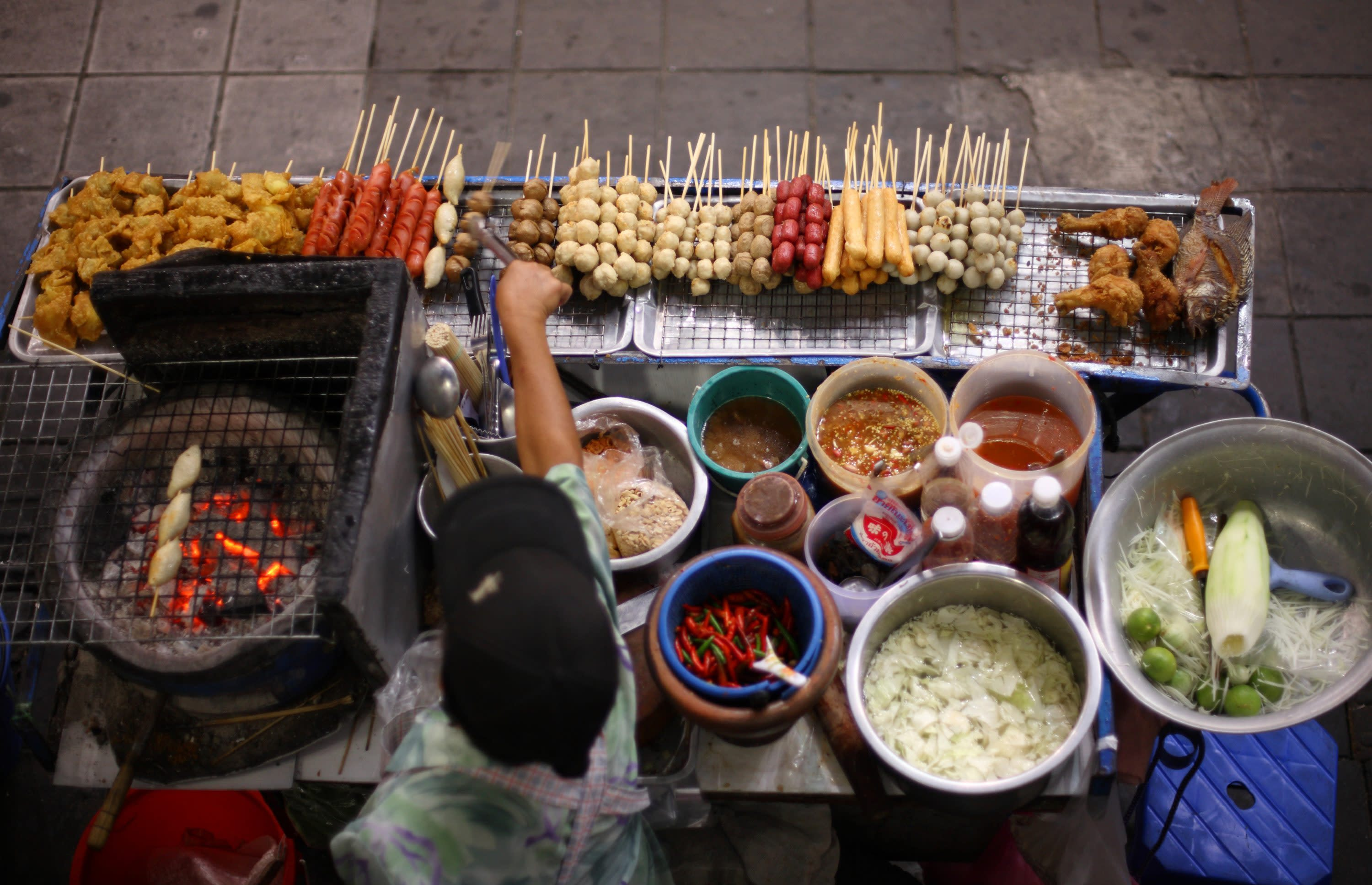 Thai Street Food culture makes it to our Top 10 food destinations