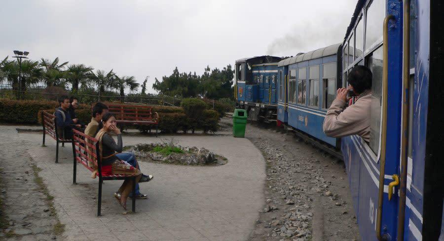 Dampfeisenbahn in Darjeeling