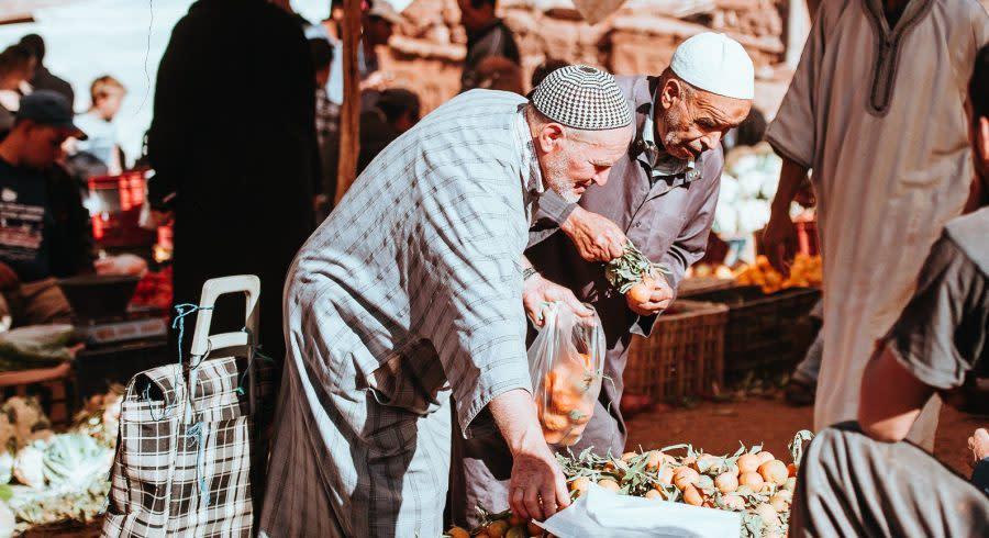 Markt in Marrakesch