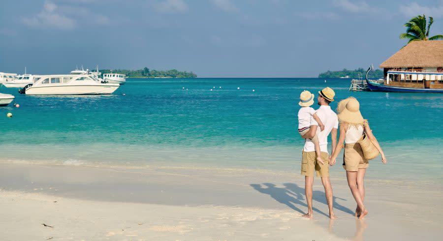 Summer vacation at Maldives