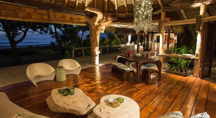 Seychelles north island luxury resort - best luxury vacation spots in the world