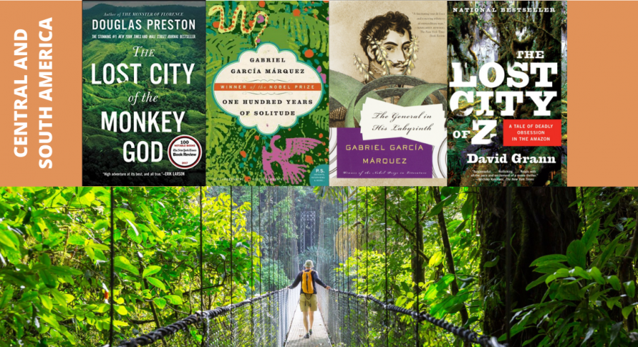 Books about Central America