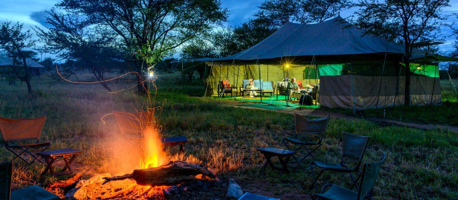 Hotel Serengeti Wilderness Camp Tanzania