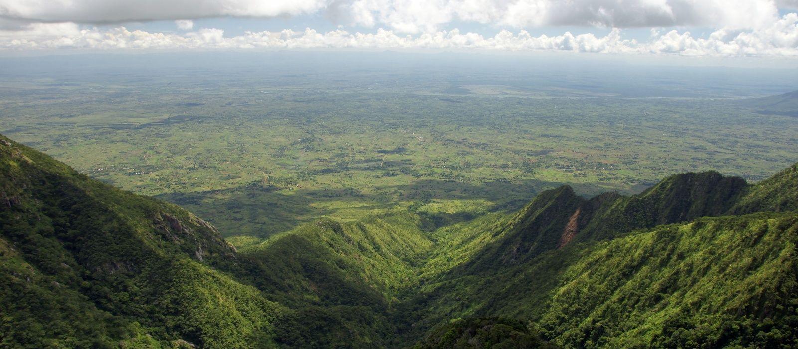 Reiseziel Zomba Plateau Malawi