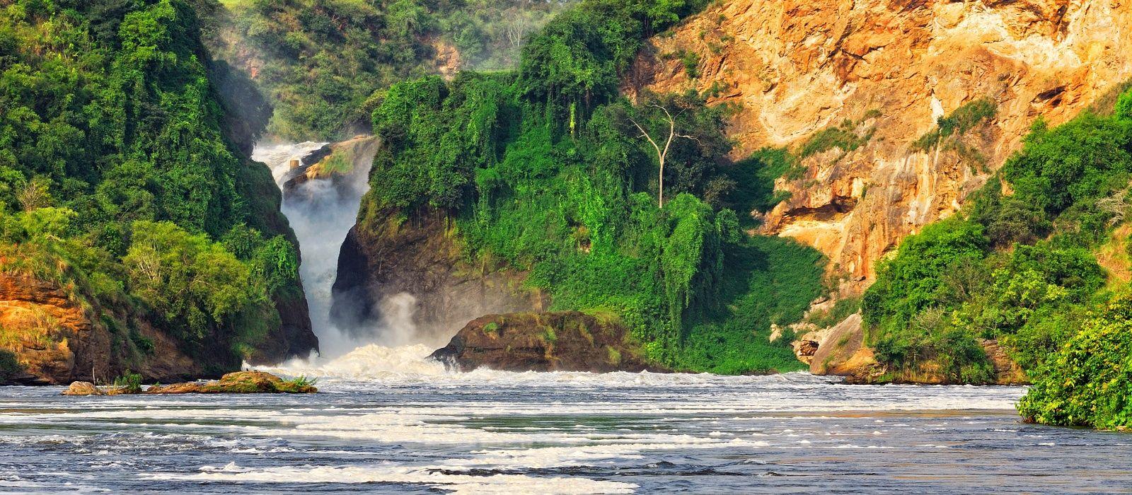 Reiseziel Murchison Falls Uganda
