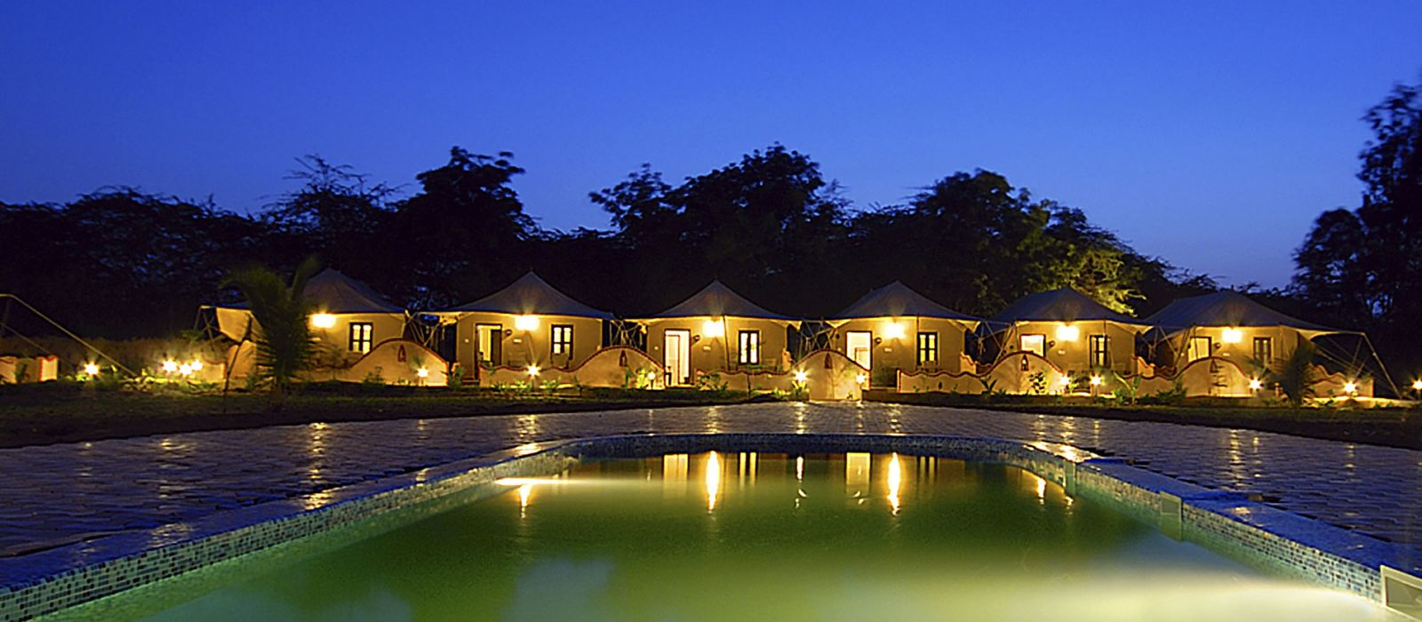 Hotel Infinity Resorts Rann Of Kutch Central & West India