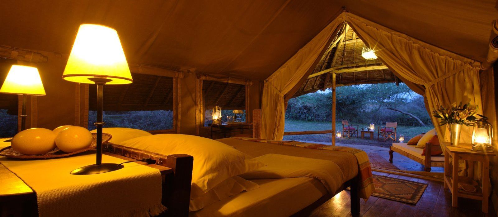Hotel Tortilis Camp Kenia
