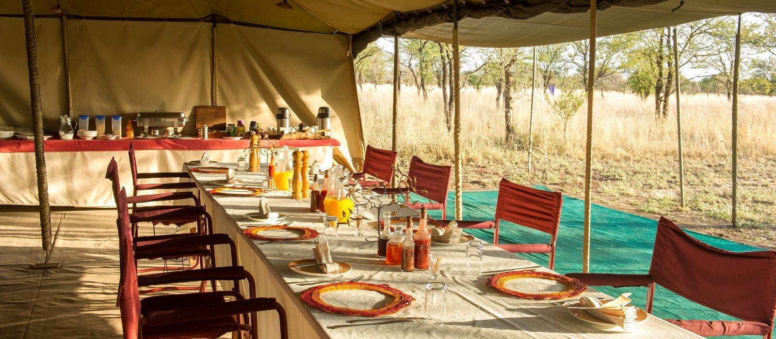 Hotel Serengeti North Wilderness Camp Tanzania