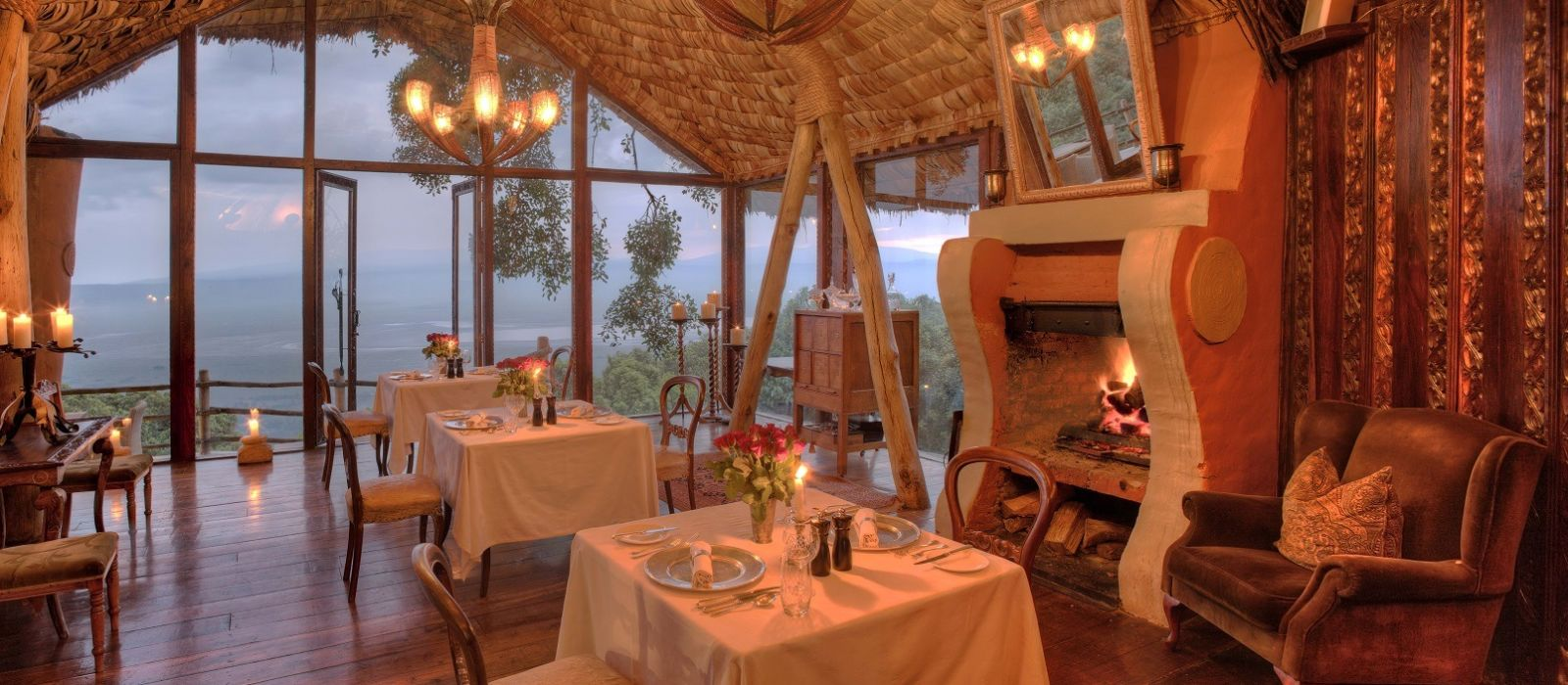 Hotel Ngorongoro Crater Lodge