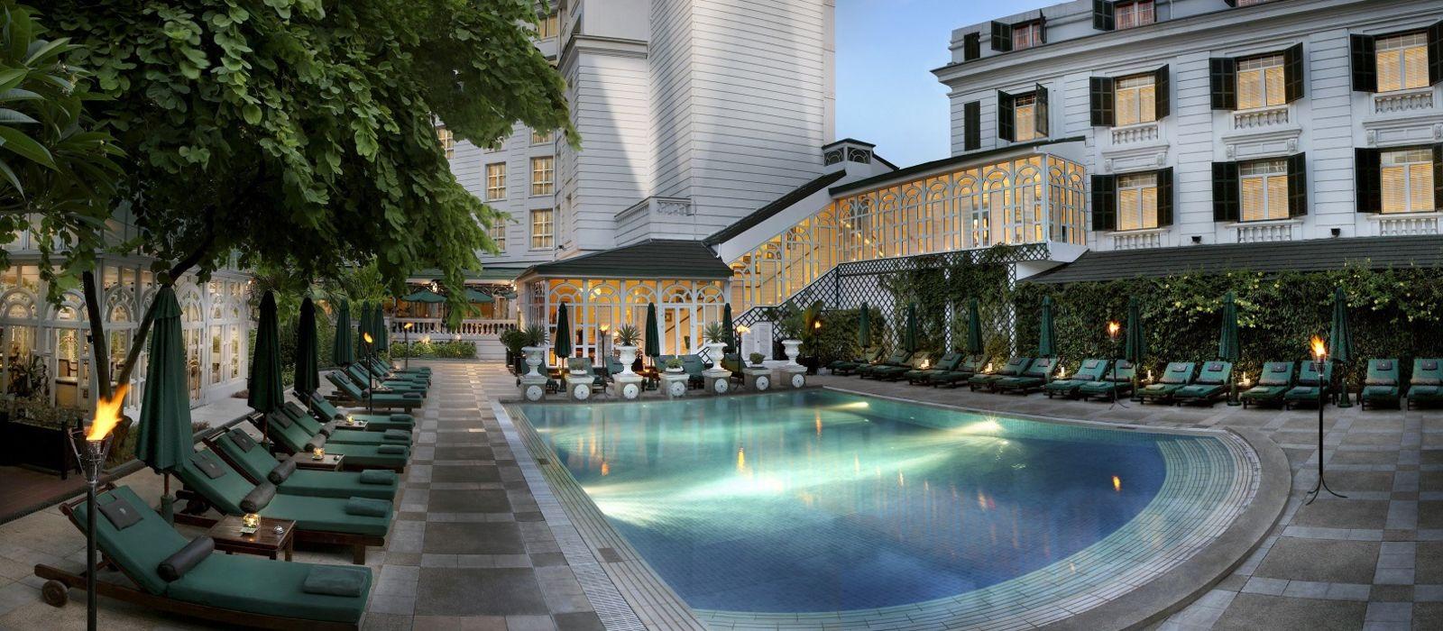 Hotel Sofitel Legend Metropole Hanoi Vietnam