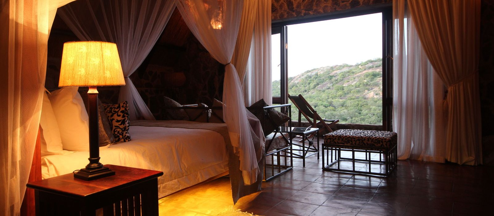 Hotel Big Cave Camp Simbabwe